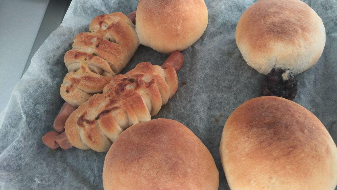 子供と手作りパンを作ろう